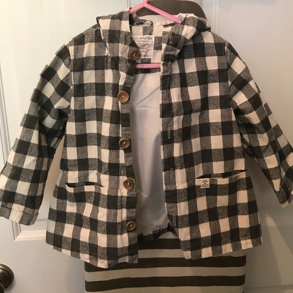 724bd787 Zara baby girls light gingham jacket